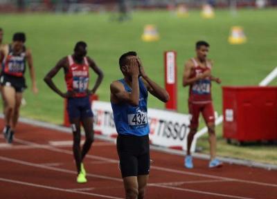 امیر مرادی: هدفم کسب مدال بود، یک ثانیه رکوردم را ارتقا دادم