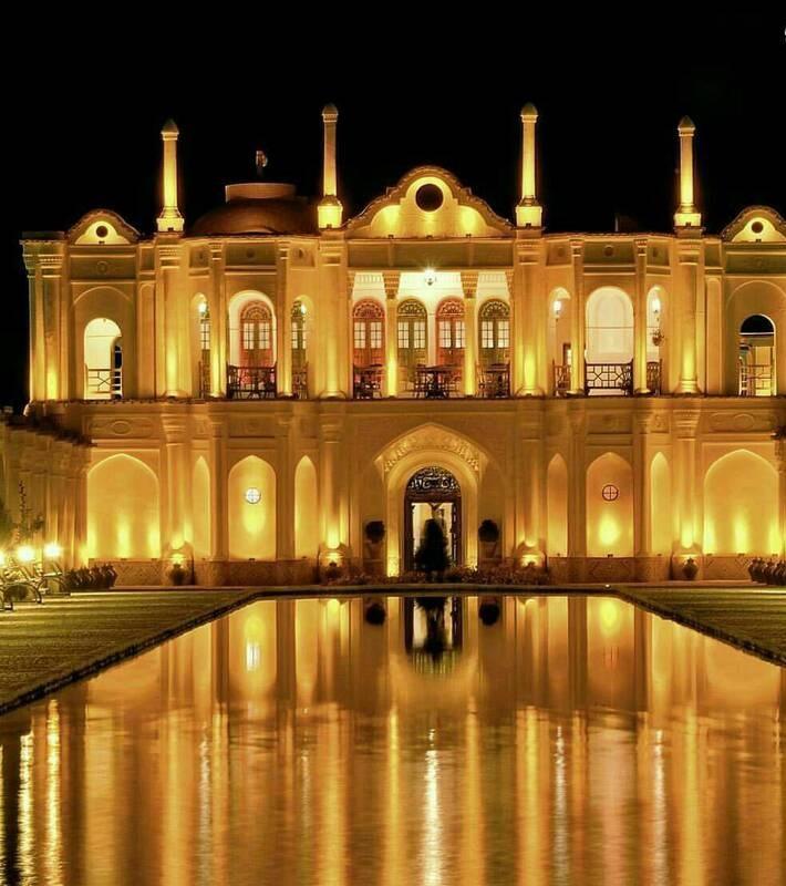 تصویر عمارتی باشکوه در کرمان