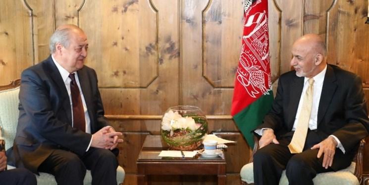 دیدار وزیر امور خارجه ازبکستان با رئیس جمهور افغانستان