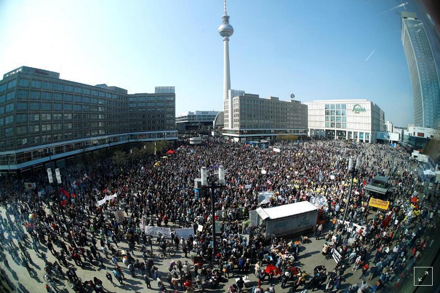 آلمانی ها به افزایش نرخ اجاره بهای مسکن اعتراض کردند
