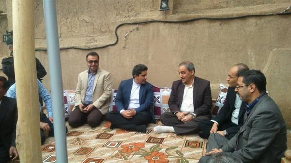 افتتاح اقامتگاه بومگردی چنارستان در شهر درود نیشابور