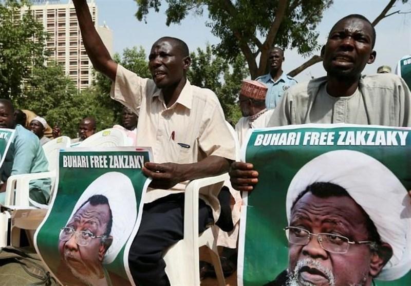 تظاهرات گسترده مردم نیجریه در حمایت از شیخ زکزاکی
