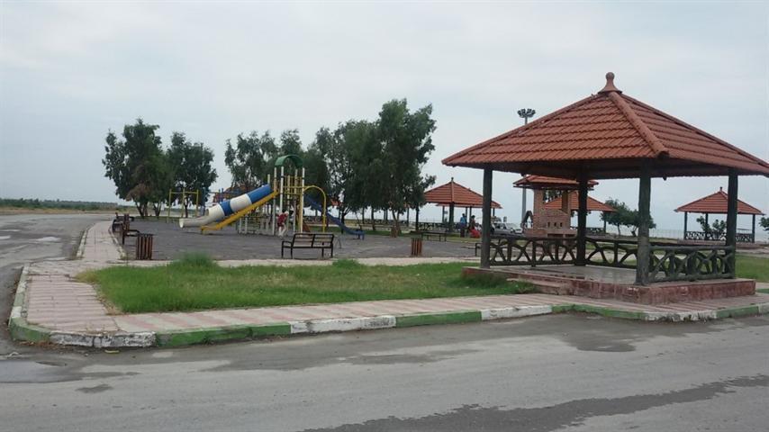 محوطه سازی کمپینگ ساحلی شهرستان بندرگز تکمیل شد