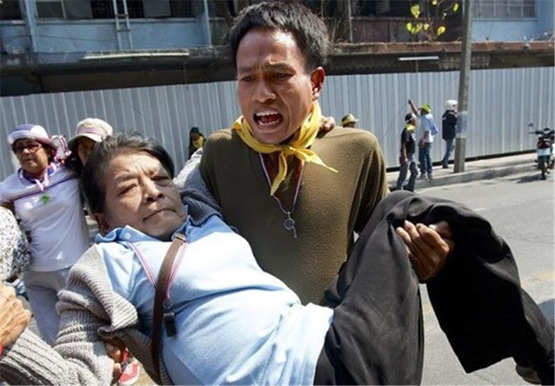 زخمی شدن 28 نفر در تظاهرات ضد دولتی در تایلند