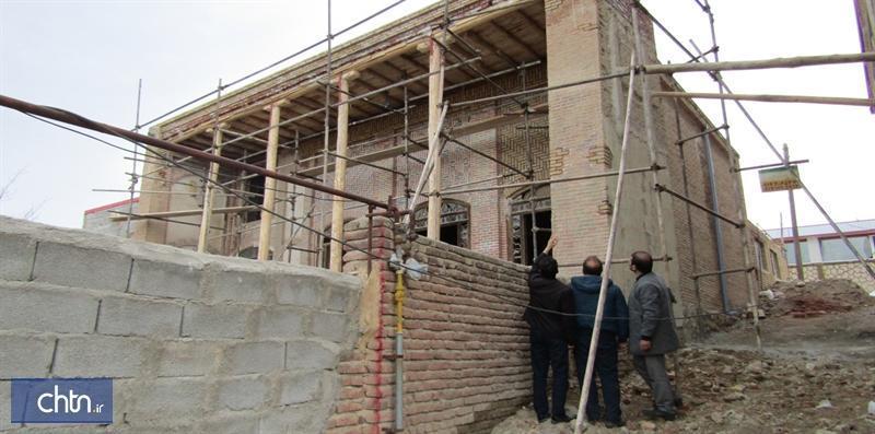 پیشرفت 70درصدی مرمت و سامان دهی خانه تاریخی جوادی اسکو