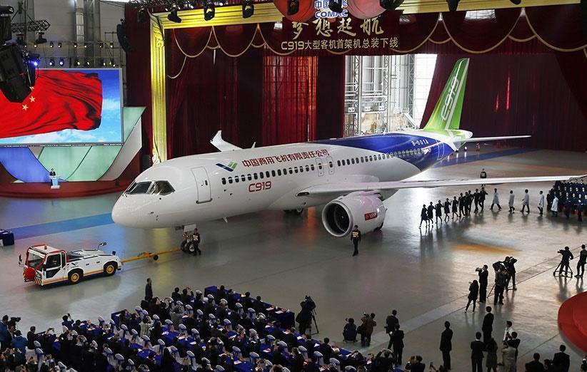 720 سفارش برای خرید هواپیمای سی 919 ساخت چین