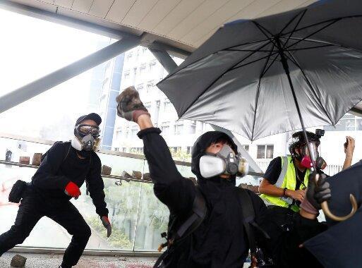 هرج و مرج در هنگ کنگ