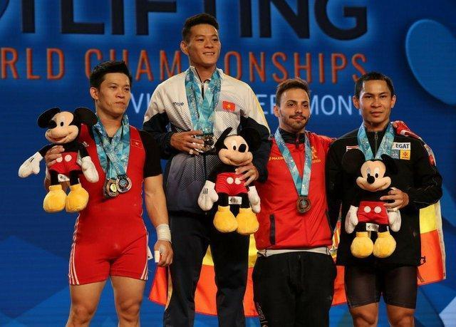 اولین قهرمانی وزنه برداری دنیا به ویتنام رسید