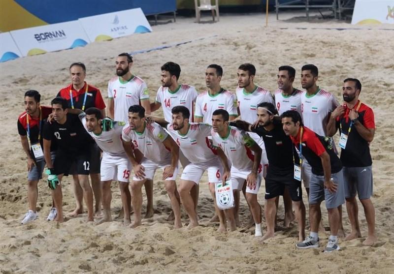 اعلام اسامی بازیکنان تیم ملی فوتبال ساحلی برای جام بین قاره ای