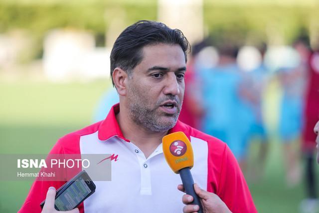 پیروانی: اگر به صعود تیم امید به المپیک باور نداشتم، نمی آمدم