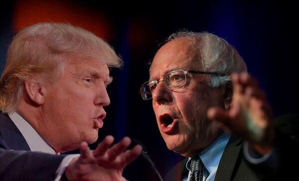 سندرز: دنیا دیگر نمی تواند سیاست های ترامپ را تحمل کند