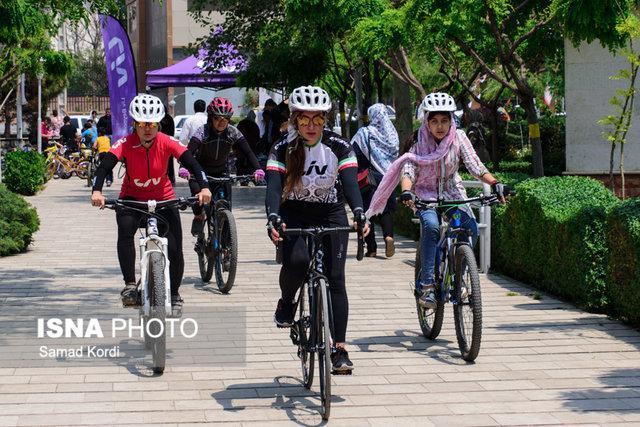 برترین بانوان دوچرخه سواری المپاد ورزشی محلات یزد معین شدند