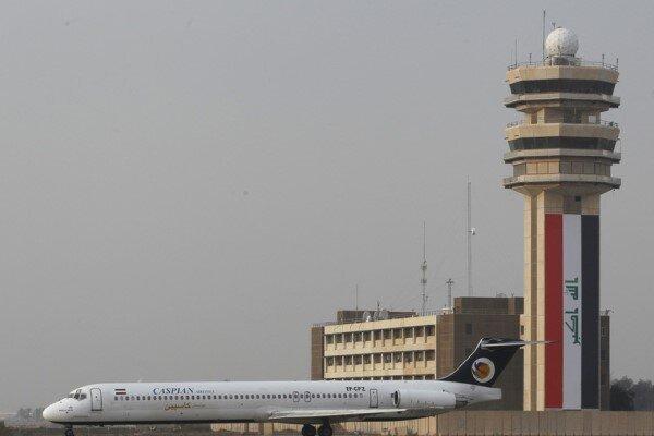 حمله موشکی به مناطق مجاور فرودگاه بین المللی بغداد