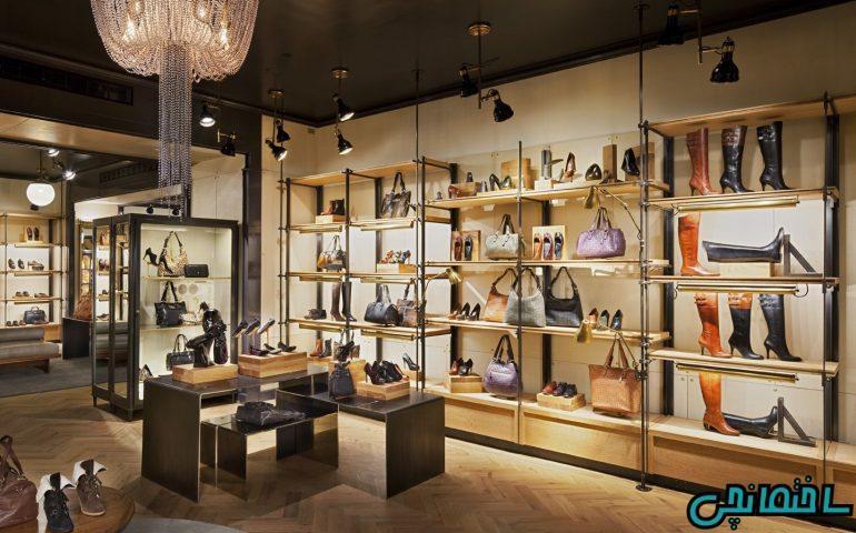 طراحی دکوراسیون مغازه و فروشگاه