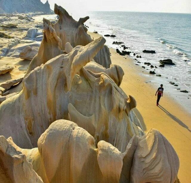 خطر تخریب ساحل گردشگری بندر مقام
