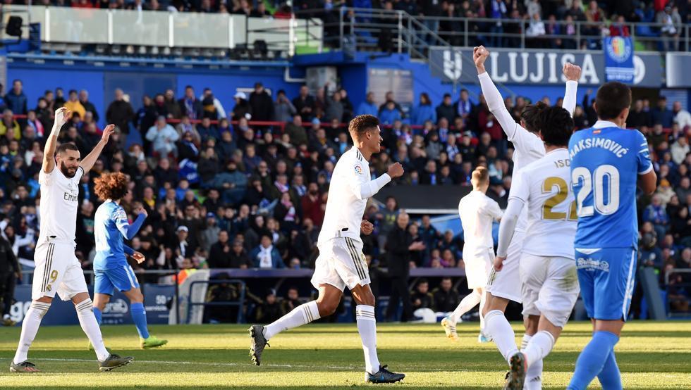 ختافه 0 - 3 رئال مادرید؛ آغاز درخشان 2020
