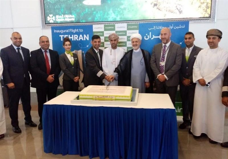افتتاح خط پروازی جدید مسقط به تهران