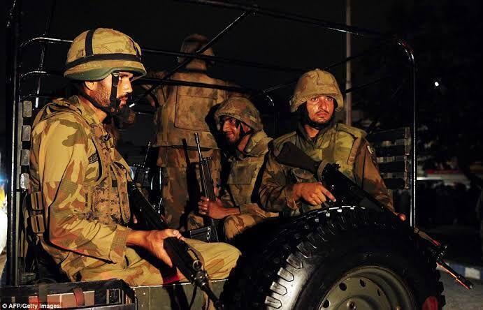 انفجار در ایالت بلوچستان جان 6 مرزبان پاکستانی را گرفت