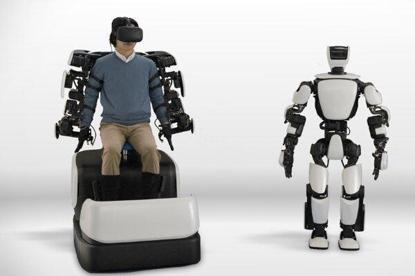 کنترل ربات انسان نما با اینترنت 5G