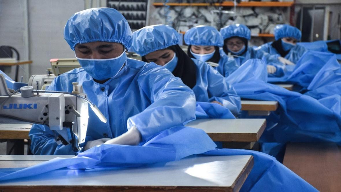 فراوری میلیونی ماسک در البرز، شمارش معکوس کاهش قیمت ماسک