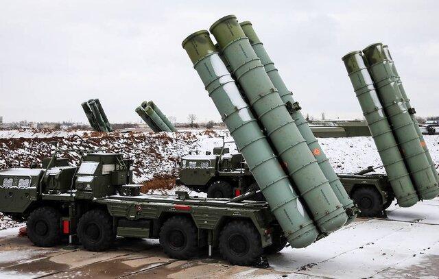 تحویل سامانه های اس-400 روسیه به چین تکمیل شد