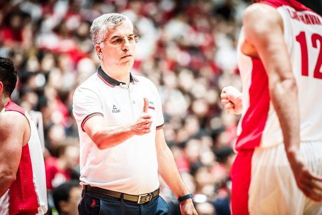 شاهین طبع سرمربی تیم ملی بسکتبال در المپیک