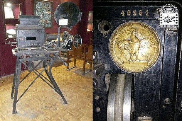 آپارات متعلق به دهه 20 میلادی در موزه سینما