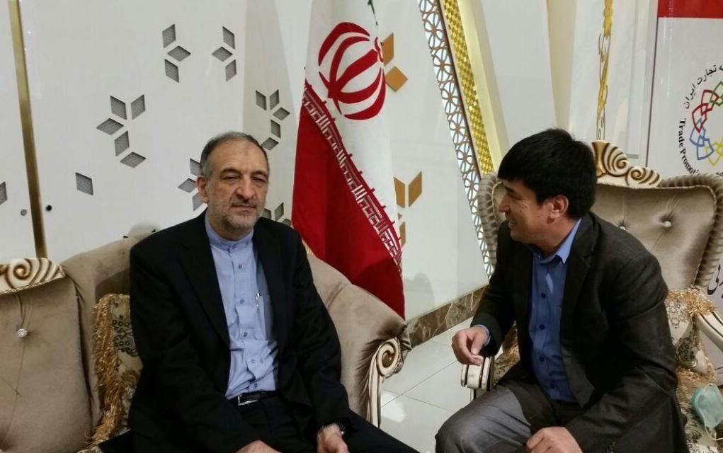 خبرنگاران سفیر ایران در افغانستان: سفر عبدالله به تهران سازنده بود