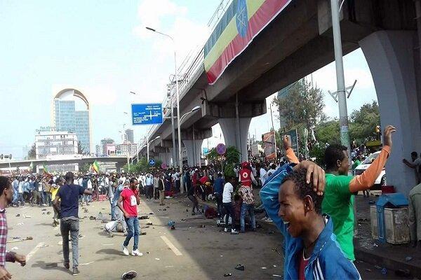 انفجار در آدیس آبابا پایتخت اتیوپی
