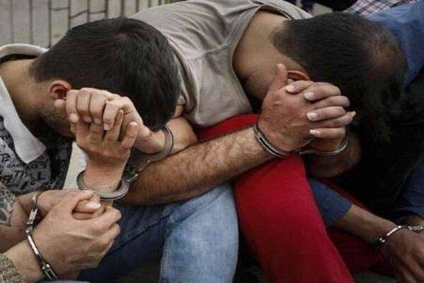 دستگیری 6 نفر از اراذل و اوباش درخانمیرزا