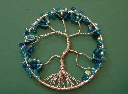 آموزش ساخت گردنبند دست ساز درختی مهره ای