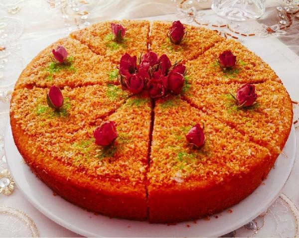 طرز تهیه کیک شنی آسان