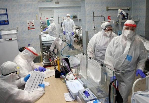 موارد روزانه ابتلا به کرونا در روسیه به زیر 17 هزار نفر کاهش یافت