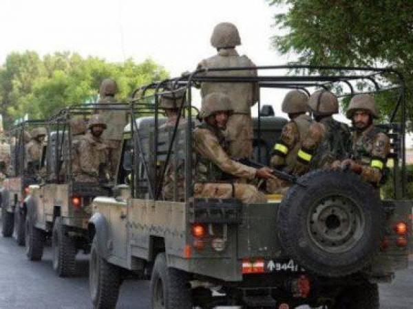 درگیری ارتش پاکستان با تروریست ها