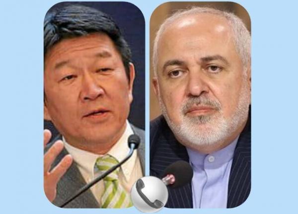 ابراز امیدواری وزیر خارجه ژاپن برای سفر به ایران در آینده نزدیک