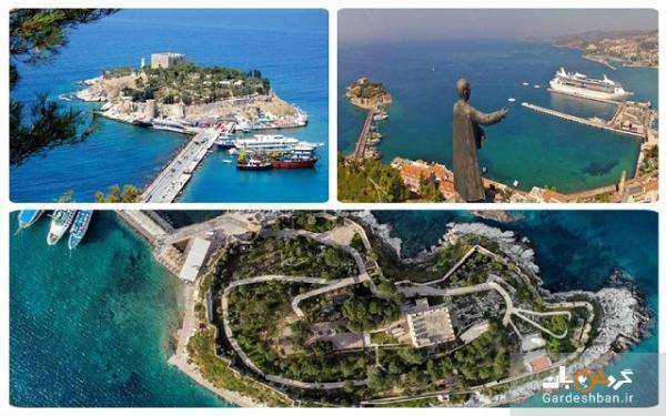 جزیره کبوتر کوش آداسی؛ از زیباترین شهرهای ساحلی ترکیه، عکس