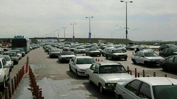 ترافیک نیمه سنگین در خروجی های مشهد