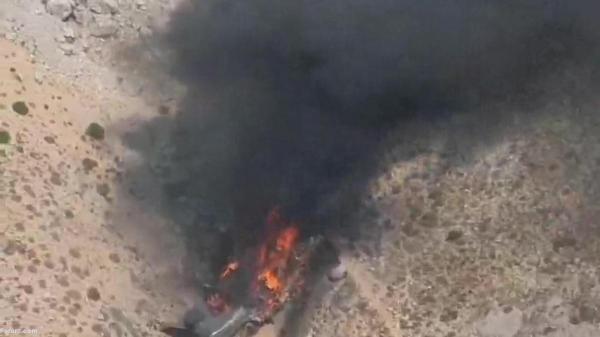 سقوط هواپیمای آب پاش روسیه در ترکیه